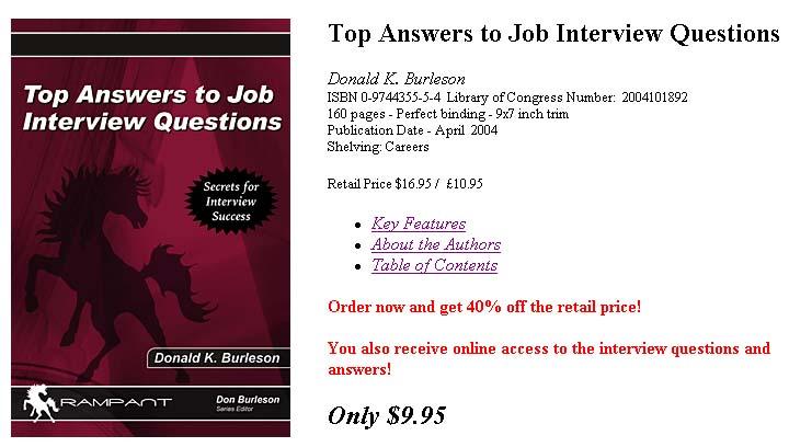 Resume Job Interview Questions